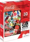 Coca-Cola (Lenticular) - 500pc Jigsaw Puzzle by Aquarius