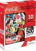Coca-Cola (Lenticular) - 500pc Jigsaw Puzzle