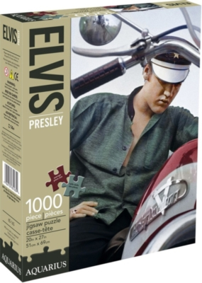 Elvis Color Bike - 1000pc Jigsaw Puzzle by Aquarius