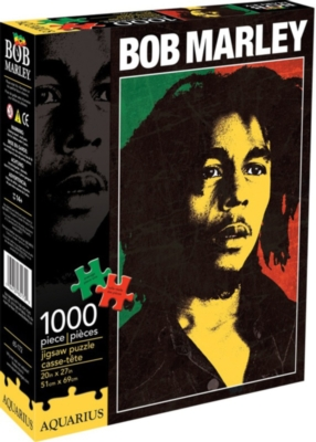 Bob Marley - One Love - 1000pc Jigsaw Puzzle by Aquarius