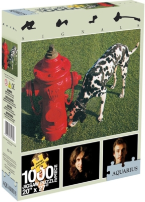 Rush - Signals - 1000pc Jigsaw Puzzle by Aquarius
