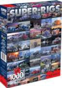 Super Rigs - 1000pc Jigsaw Puzzle by Aquarius