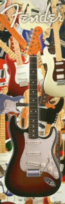 Fender - Guitar - 1000pc Panoramic Puzzle by Aquarius