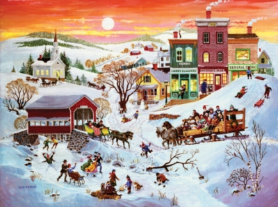 Winter Wonderland - 1000pc Jigsaw Puzzle By Sunsout