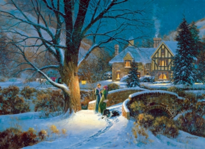Jigsaw Puzzles - Winter Splendor