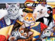 Cozy Kittens - 1000pc Jigsaw Puzzle By Sunsout