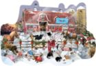 Winter Snowfall - 1000pc Shaped Jigsaw Puzzle By Sunsout