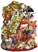 Shaped Jigsaw Puzzles - A Pile of Presents