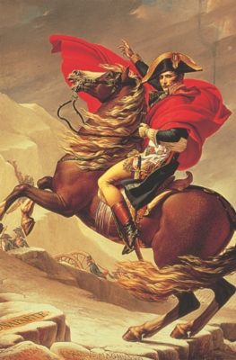 Napoleon Crossing The Alps - 1000pc Jigsaw Puzzle by Tomax