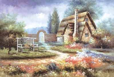 Tomax Jigsaw Puzzles - Floral Garden