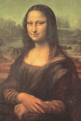 Mona Lisa - 1000pc Jigsaw Puzzle by Tomax