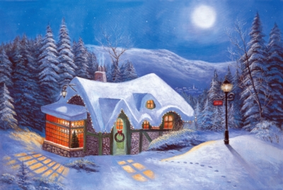Silent Night - 1000pc Jigsaw Puzzle by Tomax