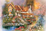 Dreamy Scenery - 1000pc Glow-in-the-Dark Jigsaw Puzzle by Tomax
