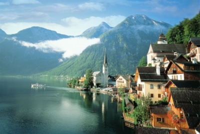 Lake Hallstatt - 1000pc Jigsaw Puzzle by Tomax