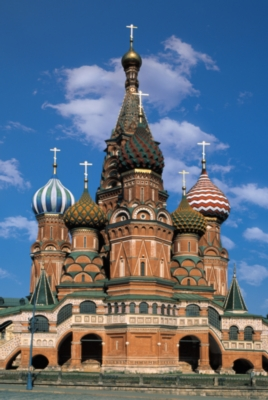 St. Basil's Cathedral, Moscow - 1000pc Jigsaw Puzzle by Tomax