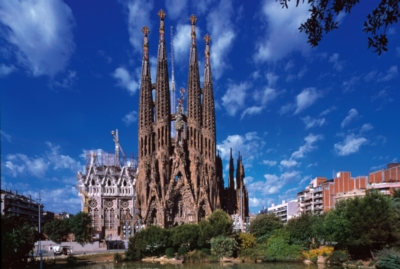 Sagrada Familia, Spain - 1000pc Jigsaw Puzzle by Tomax