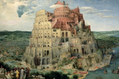 Tower Of Babel - 1000pc Jigsaw Puzzle by Tomax