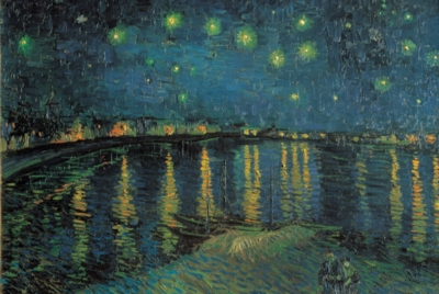 Starry Night Over The Rhone - 1000pc Jigsaw Puzzle by Tomax