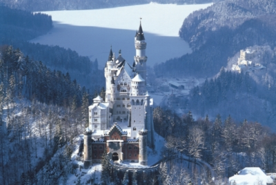 Neuschwanstein Castle, Germany - 1000pc Jigsaw Puzzle by Tomax