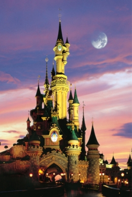 Fantasy World - 1000pc Glow-in-the-Dark Jigsaw Puzzle by Tomax