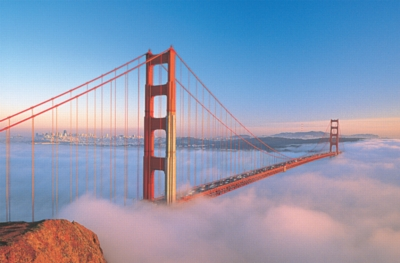 Golden Gate Bridge, San Francisco - 1500pc Jigsaw Puzzle by Tomax