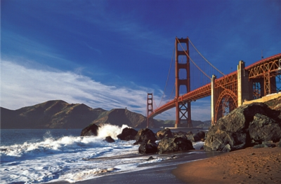Golden Gate Bridge - 1500pc Jigsaw Puzzle by Tomax