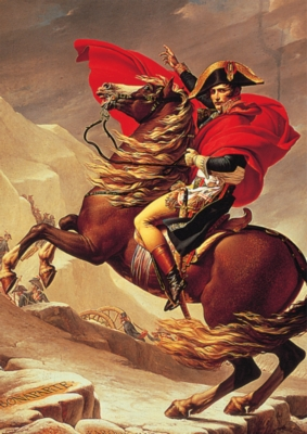 Napoleon Crossing The Alps - 2000pc Jigsaw Puzzle by Tomax