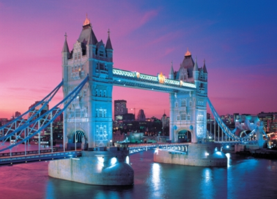 Tower Bridge, London - 2000pc Jigsaw Puzzle by Tomax