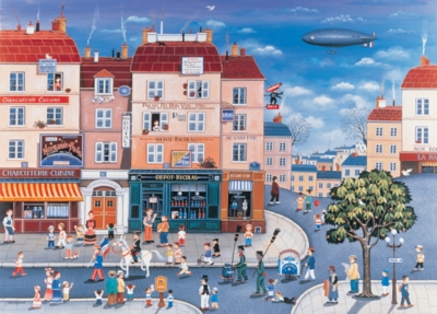 Main Street - 2000pc Jigsaw Puzzle by Tomax