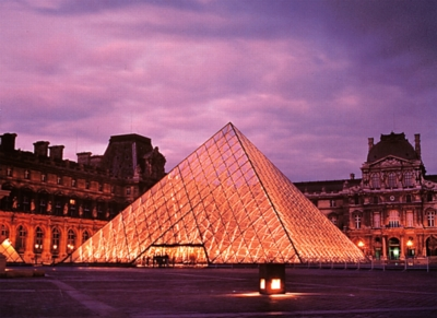 Louvre Pyramid, Paris - 500pc Jigsaw Puzzle by Tomax