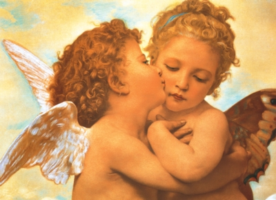 Tomax Jigsaw Puzzles - Putto's Kiss