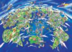 Wonderful World - 500pc Jigsaw Puzzle by Tomax