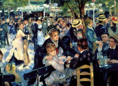 Tomax Jigsaw Puzzles - Ball at the Moulin de la Galette, Montmartre
