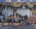 Salt Lake City - 500pc Jigsaw Puzzle by Dowdle