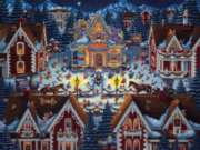 Gingerbread House - 500pc Jigsaw Puzzle by Dowdle