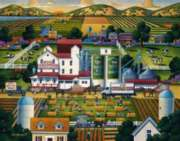 Lehi Roller Mills - 500pc Jigsaw Puzzle by Dowdle
