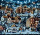 Alpine Christmas - 500pc Jigsaw Puzzle by Dowdle