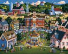 School Carnival - 500pc Jigsaw Puzzle by Dowdle