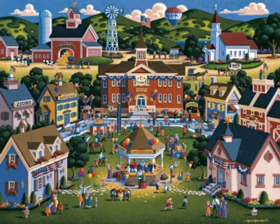 Dowdle Jigsaw Puzzles - School Carnival
