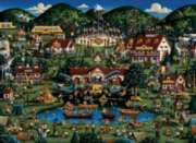 Camp Eagles Nest - 500pc Jigsaw Puzzle by Dowdle