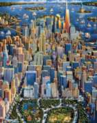 New York - 500pc Jigsaw Puzzle by Dowdle