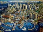 San Francisco - 500pc Jigsaw Puzzle by Dowdle