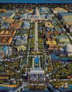 Washington DC - 500pc Jigsaw Puzzle by Dowdle