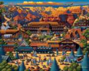 Grand Canyon - 500pc Jigsaw Puzzle by Dowdle