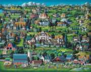 Midway - 500pc Jigsaw Puzzle by Dowdle