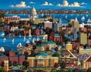 Madison - 500pc Jigsaw Puzzle by Dowdle