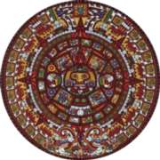 Aztec Calendar - 500pc Jigsaw Puzzle by Dowdle