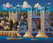 London Tower Bridge - 500pc Jigsaw Puzzle by Dowdle