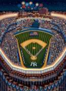 Yankee Stadium - 500pc Jigsaw Puzzle by Dowdle