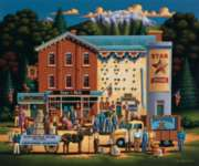 Star Flour Mill - 500pc Jigsaw Puzzle by Dowdle